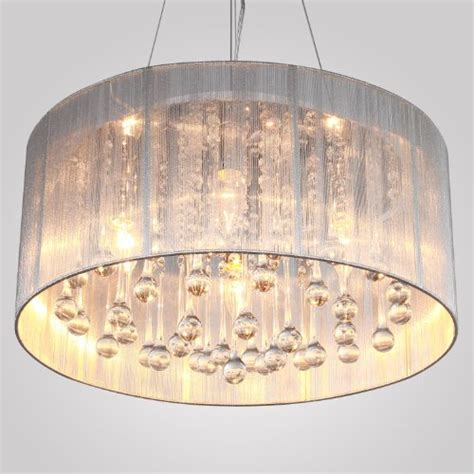 lightinthebox modern silver pendant light in