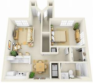 1 bedroom apartment house plans futura home decorating With 1 bedroom flat house plan