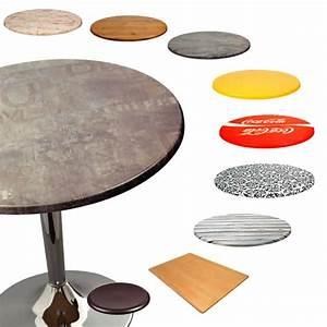 Plateau Pour Table : werzalit tops pour bars et restaurants plateau de table en werzalit disponible en diff rentes ~ Teatrodelosmanantiales.com Idées de Décoration