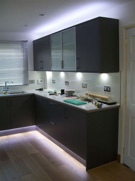 led  kitchen unit lights diynot forums