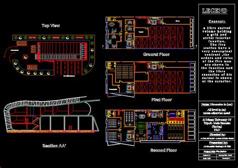 Fire Station DWG Block for AutoCAD ? Designs CAD