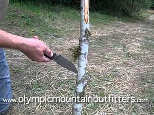 How To Make A Long Bow Survival Bow In 90 Minutes. Shoots ...