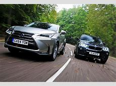 Lexus NX vs BMW X3 Auto Express