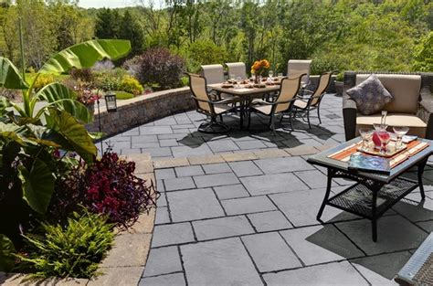 ep henry patio in devonstone bluestone outdoor places