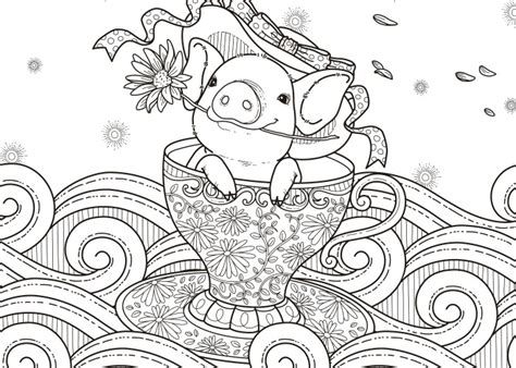 Pig And Flower Coloring Play Free Coloring Game Online
