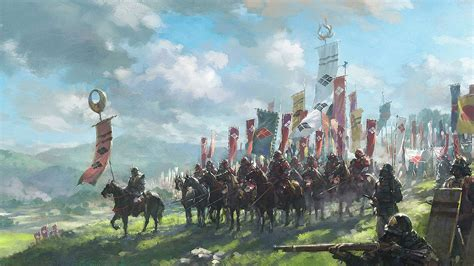 Fantasy Battle Wallpaper 1920x1080 Samurai Battle War Flag Armor War Horse Japan Wallpapers Hd Desktop And Mobile Backgrounds