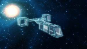 Glass Space Station ? by AsrialTerra on deviantART