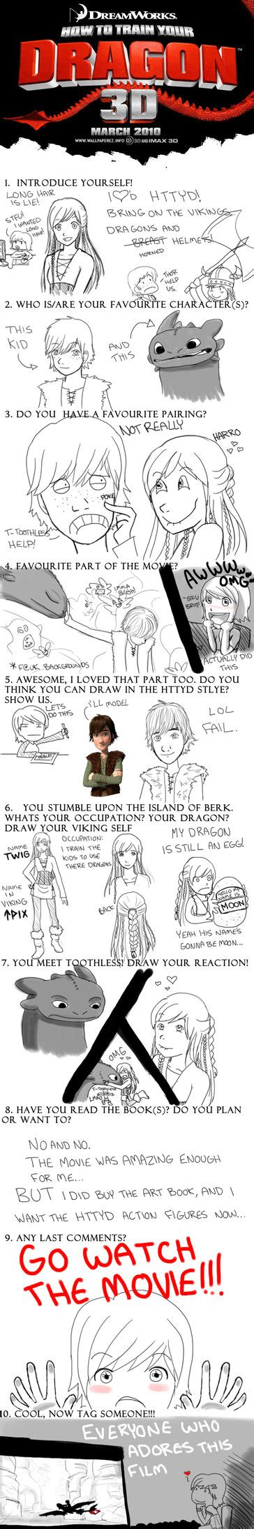 How To Train Your Dragon Memes - how to train your dragon meme by rainowls on deviantart