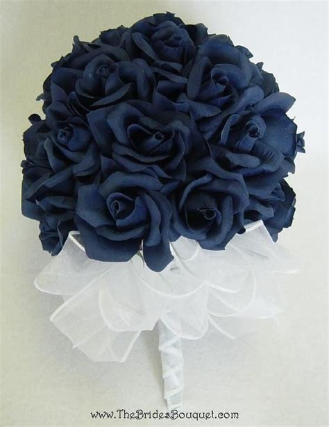 navy blue flowers ideas  pinterest navy