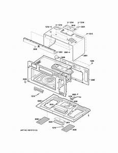 Ge Cvm1790ss4ss Microwave Parts