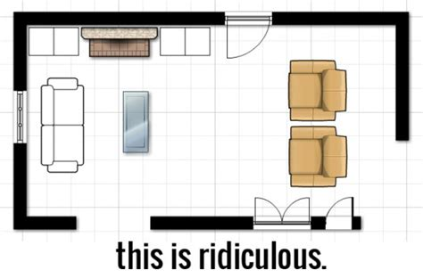 Narrow Rectangular Living Room Layout by Decorating 101 Space Planning And More On Jill S