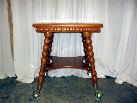 antique tables with claw feet 24 sq light color oak glass ball claw feet l table for