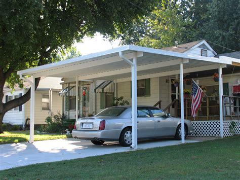 standing aluminum carport kit   patio cover ebay