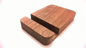 Custom Made Handcrafted Iphone Dock | Wooden Phone Dock ...