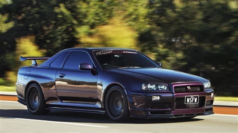 1999 Nissan Skyline Gtr R34 Wallpaper by R34 Wallpapers 71 Background Pictures