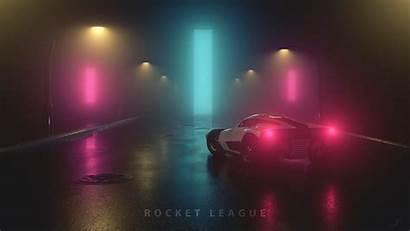 Rocket League 4k 3d Wallpapers Fanart Breakout
