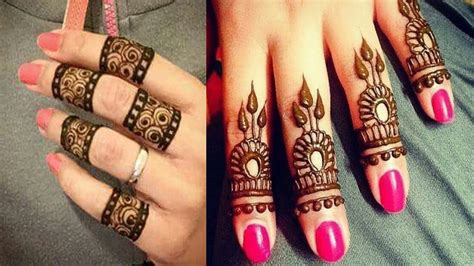 Top 14 Simple Finger Mehndi
