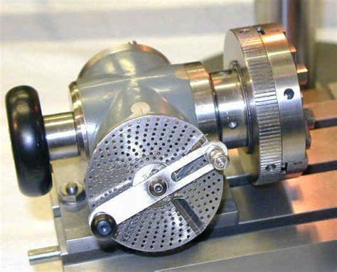 bill huxholds working scale model dividing head metal