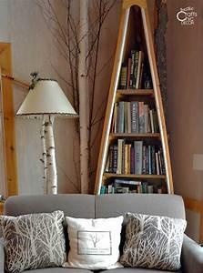 Unique, Diy, Rustic, Bookcases, And, Shelves, U2013, Rustic, Crafts, U0026, Chic, Decor