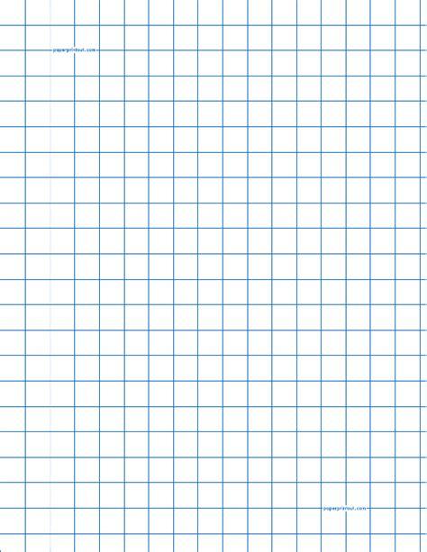 blue   graph paper template  printable