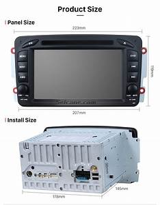 Seicane S127507 Double Din Android 5 1 1 Bluetooth Dvd In