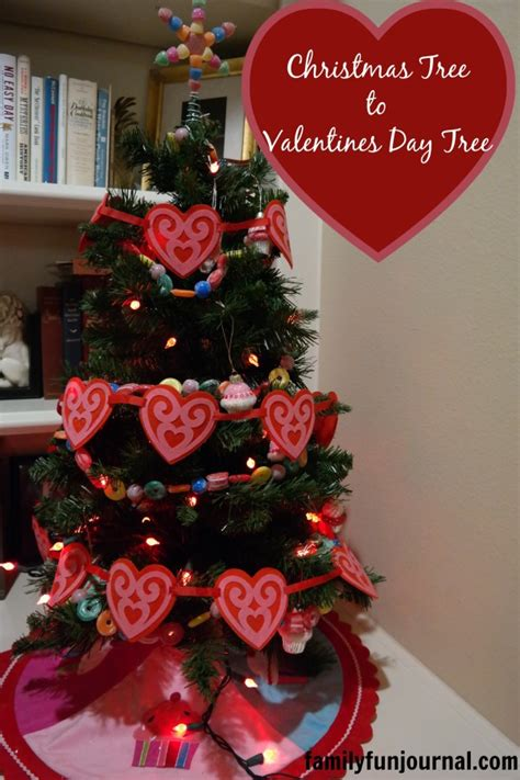 christmas tree  valentines day tree family fun