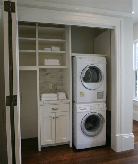 25 best ideas about closet laundry rooms on