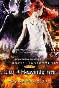 City of Heavenly Fire Cover | My other home.