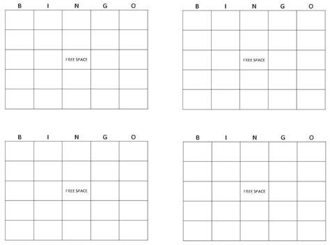 blank bingo template blank bingo cards get blank bingo cards here