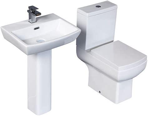 Aquabro Daisy Lou Toilet And Basin Set