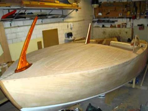 building homemade  wooden runabout youtube