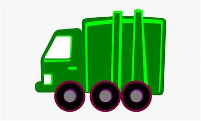 Garbage Truck Clip Lime Clker Clipart Easy