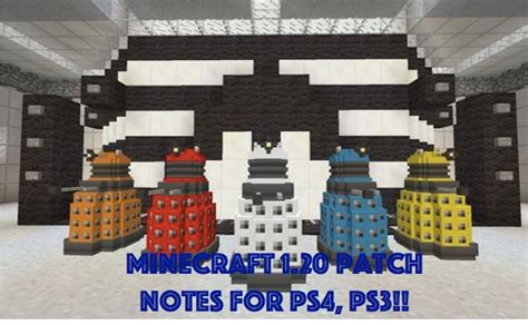 minecraft ps ps  update notes  full product