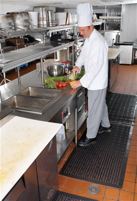 Suction Backed Kitchen Mats are Restaurant Kitchen Mats by