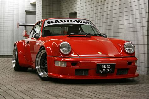 rauh welt porsche 911 rwb porsche 911 rauh welt begriff red front view revival