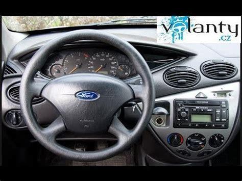 airbag und lenkrad ausbauen ford focus mk youtube