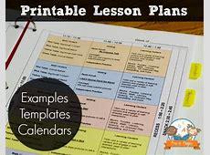Printable Lesson Plans for Preschool, PreK, and