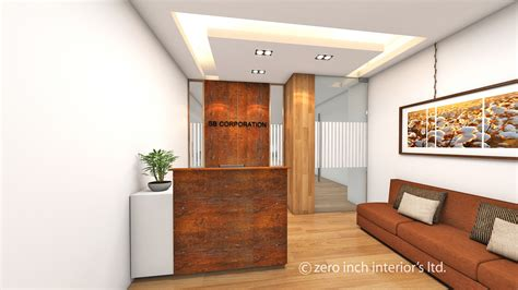 Small Office Interior Design By Zero Inch Interiors Ltd