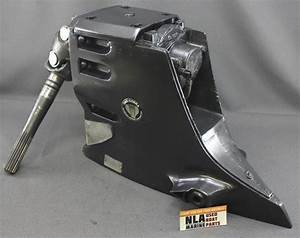 Omc Cobra Upper Gearcase Sterndrive Gm 5 7l 350 V8    Ford