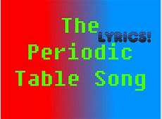 Table of elements song slow elledecor periodic table asapscience asapscience periodic table access youtube urtaz Images