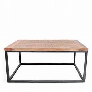 Table Basse Ronde Bois Metal : table basse ronde bois metal 19 id es de d coration int rieure french decor ~ Teatrodelosmanantiales.com Idées de Décoration