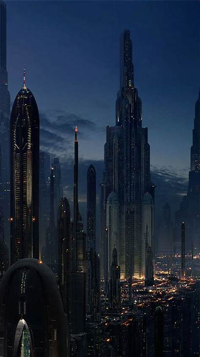 Future Iphone Futuristic Wallpapers Background Cities Sci