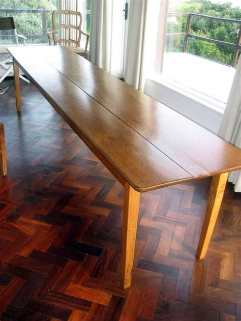 sale rare french dining table long narrow