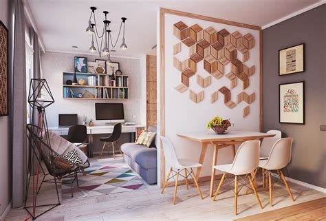 Small Home Designs Under 50 Square Meters :  2 Beautiful Small Apartment Plans