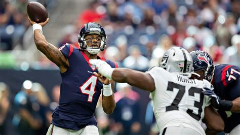 Watch Raiders @ Texans Live Stream | DAZN CA