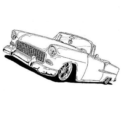 Kleurplaat Hotrod by 1000 Images About Hotrod Clip On Clip