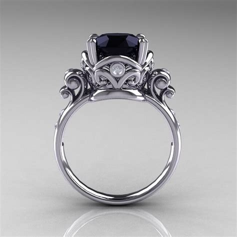 onyx engagement rings with engagement rings