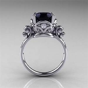 onyx engagement rings with diamond engagement rings With black onyx wedding ring
