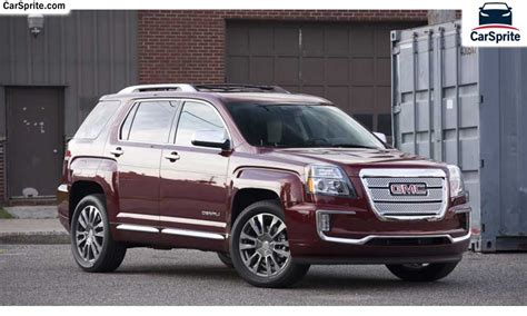 Gmc Terrain 2017 Prices And Specifications In Qatar