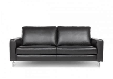 taille canapé 2 places canapé de taille edd 2 5 places cubique en cuir